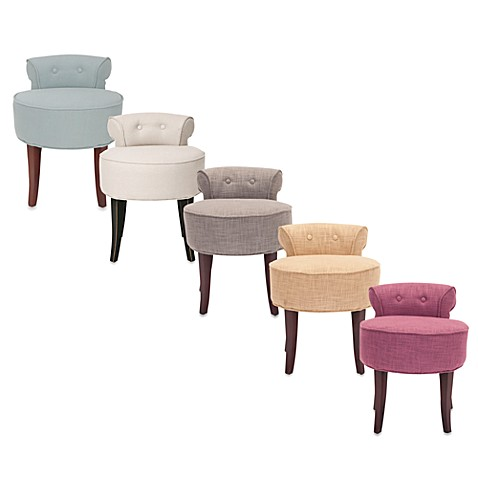 image of Safavieh Georgia Vanity Stool - Storage & Shower Benches Bathroom Vanity Sets & Stools