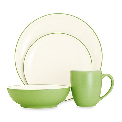 Noritake® Colorwave Coupe Dinnerware Collection in Apple - Bed Bath ...