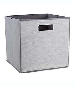 Contenedor de cartón plegable ORG™ Serenity de 33.02 cm color gris