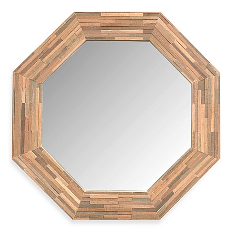 Jeffan Rosario Large Wood Mirror