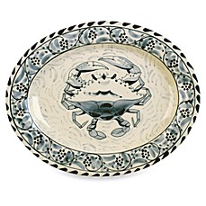 image of Blue Crab Bay Co.® 15-Inch Oval Platter