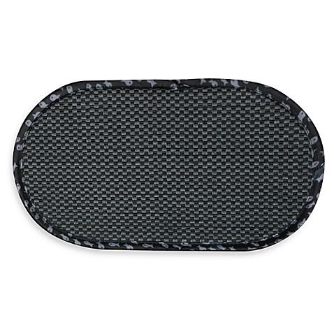 The Original Cat Bowl Mat In Black Bed Bath Amp Beyond