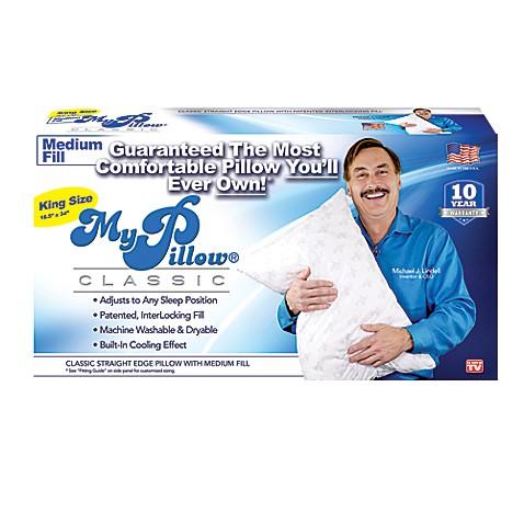 MyPillow Medium Fill King Pillow Bed Bath Amp Beyond