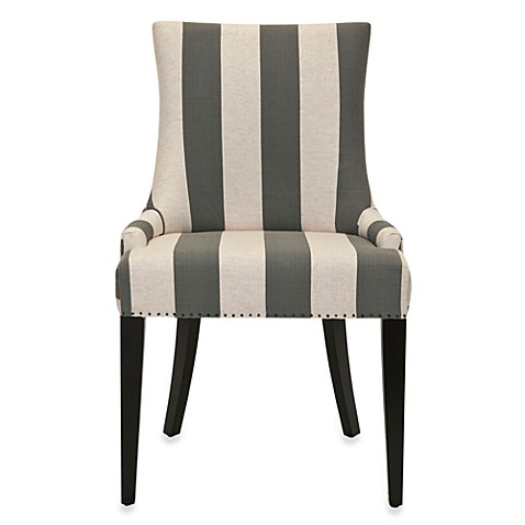 Safavieh Becca Fabric Dining Chair In Grey Bed Bath Amp Beyond