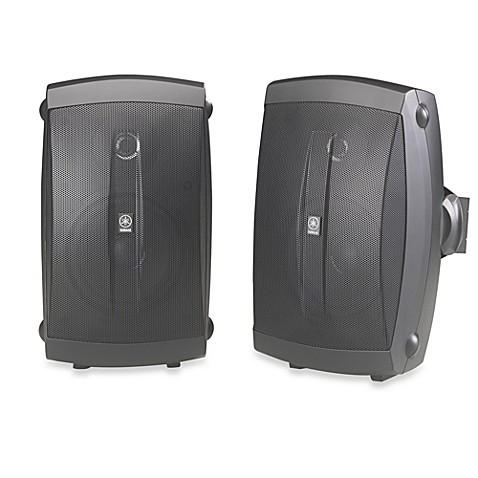 buy yamaha outdoor 2 way speakers in black from bed bath