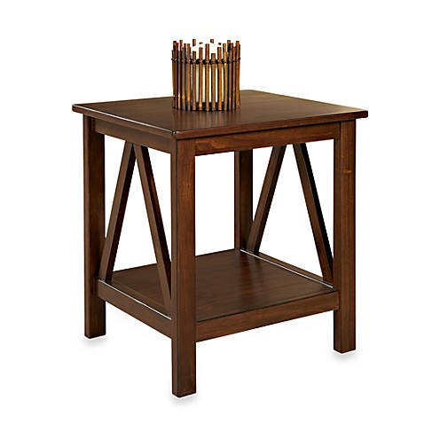 Dylan End Table in Antique Tobacco