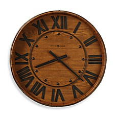 image of Howard Miller Wine Barrel Gallery Wall Clock