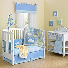 image of New Country Home Laugh, Giggle & Smile Wish I May Crib Bedding Collection