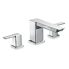 image of Moen® 90-Degree 2-Handled Roman Tub Faucet Trim in Chrome
