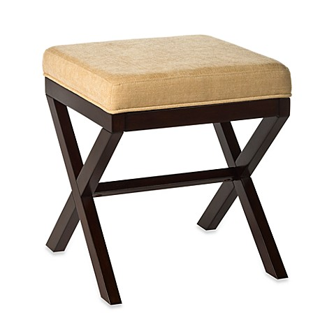 Hillsdale Morgan Quot X Quot Backless Vanity Stool Bed Bath Amp Beyond
