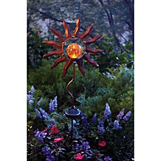 image of Burnished Sun Solar Garden Stake