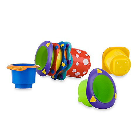 Nuby™ 5-Pack Splish Splash Stackable Bath Cups