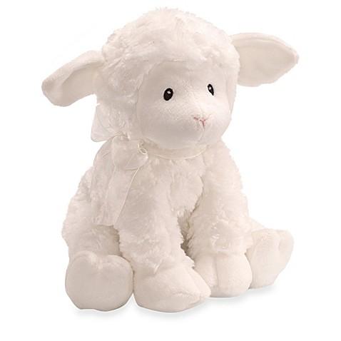 Gund 174 Baby Lena Lamb Musical Toy Buybuy Baby