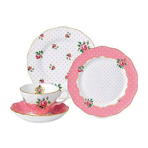 Royal Albert Cheeky Pink Dinnerware Collection  sc 1 st  Bed Bath u0026 Beyond & Royal Albert Cheeky Pink Dinnerware Collection - Bed Bath u0026 Beyond