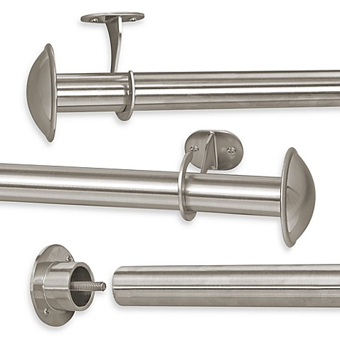 Decorative Window Curtain Rods, Curtain Rod Brackets & Finials ...
