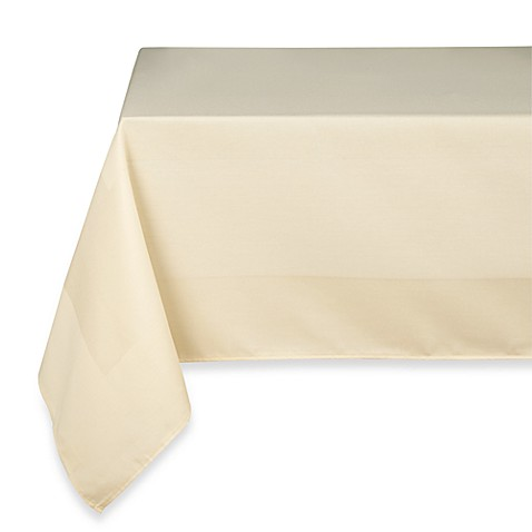 Riegel® Satin Band Beauti-Damask 90-Inch Round Tablecloth in Sand (3-Pack)