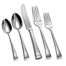 image of Lenox® Federal Platinum 5-Piece Flatware Place Setting