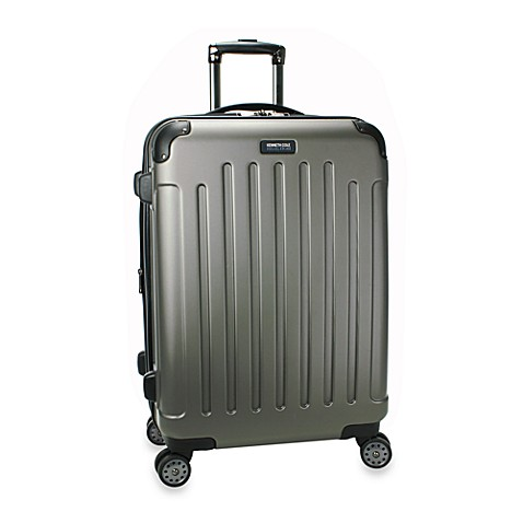 Kenneth Cole Reaction Renegade 24-Inch Expandable 8-Wheel Upright in Silver