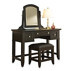 Image Of Home Styles Bedford Vanity Set In Black