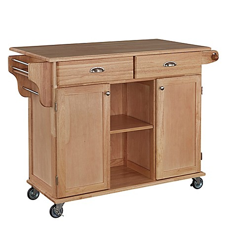 kitchen carts islands home styles napa rolling kitchen cart bed bath amp beyond 6504