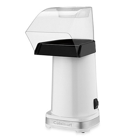 image of cuisinart easypop hot air popcorn maker in white - Popcorn Makers