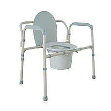 Image Of Drive Medical Bariatric Folding Commode