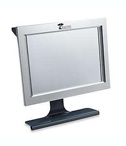Espejo antiempañante para regadera con LED