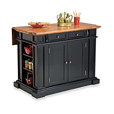 Image Of Home Styles Kitchen Island With Distressed Oak Top