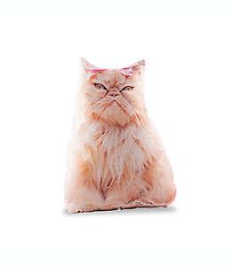 Cojín decorativo Animals Charlotte Rachael Hale® en forma de gato