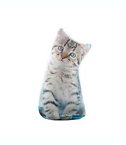 Cojín decorativo Animals Peanut Rachael Hale® en forma de gato