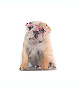 Cojín decorativo Animals Lola Rachael Hale® en forma de perro