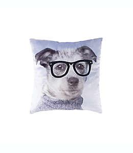 Cojín decorativo cuadrado Animals Jake Rachael Hale® con diseño de perro