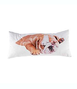 Cojín decorativo rectangular Animals Dallas Rachael Hale® con diseño de perro