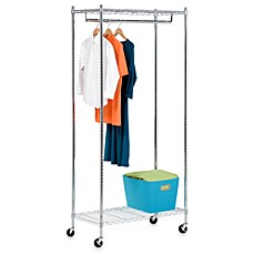 Image Of Rubbermaid 4 Foot To 8 Closet Anizer Kit In White