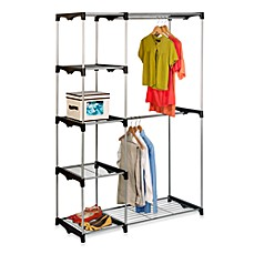 Image Of Honey Can Do® 68 Inch Steel Freestanding Wardrobe Closet