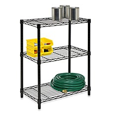 image of Honey-Can-Do® Steel 3-Tier Shelving Unit