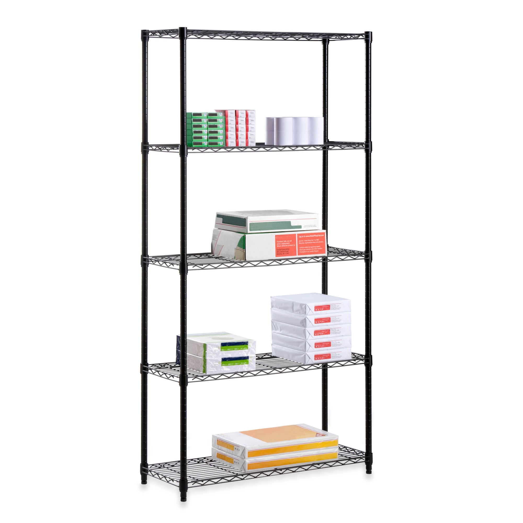 Honey Can Do Steel 5 Tier Shelving Unit Bed Bath Beyond