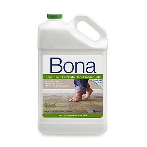 Bona 160 Ounce Stonetile Laminate Floor Cleaner Refill Bed Bath