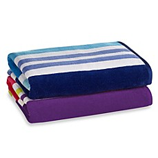 image of Cabana Stripe Beach Towel
