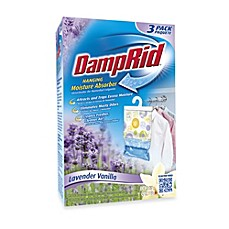 image of Damp Rid® Hanging Moisture Absorber in Lavender Vanilla (Set of 3)