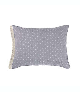 Funda para almohada estándar Holden Bee & Willow™ Home color gris