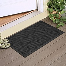 image of Weather Guard™ Diamonds 23-Inch x 35-Inch Door Mat