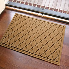 image of weather guard 23inch x 35inch argyle door mat