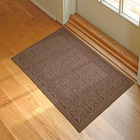 Buy microfibre low profile star 2 foot x 3 foot door mat for Indoor front door mat