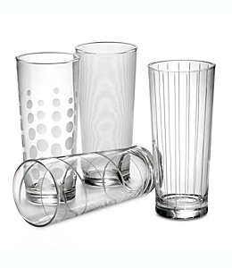 Vasos altos Mikasa® Cheers, Set de 4