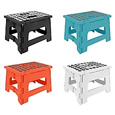 image of Kikkerland® Easy Folding Step Stool