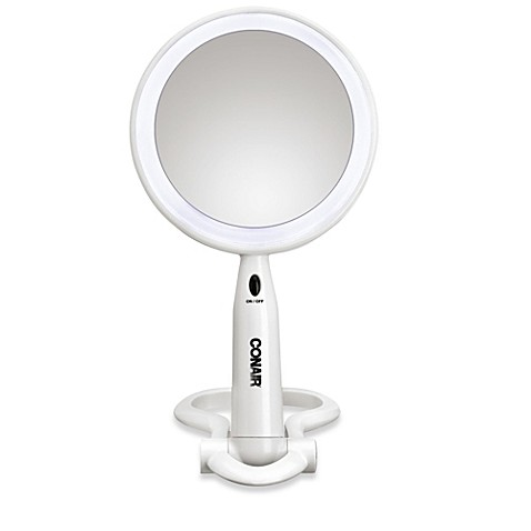 Illuminations by Conair® 1X/3X Lifetime LED Mirror in White