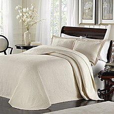 image of Lamont Home™ Majestic Bedspread in Ivory
