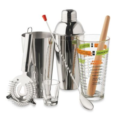 image of Libbey® 9-Piece Cocktails Mixologist Set