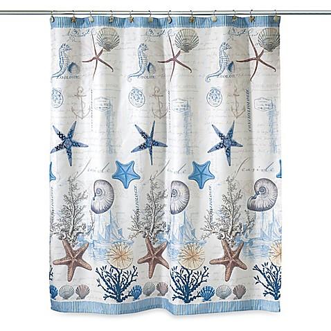 Avanti Antigua 72 Inch X 72 Inch Fabric Shower Curtain   Bed Bath U0026 Beyond